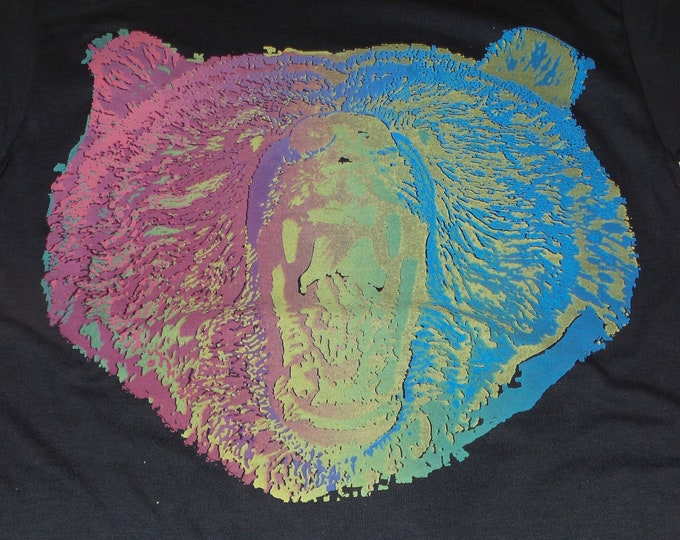 T-Shirt - Owsley (Rainbow on Black)