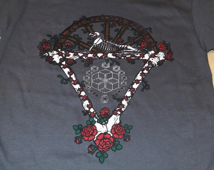 T-Shirt - Bones Under The Stars (on Grey)