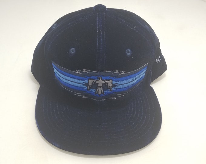 Snapback Flat-Brim Hat - Thunderbird (One-of-a-kind)