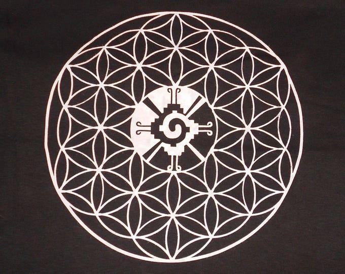 Made-To-Order T-Shirt/Tank/Long Sleeve/Women's - Hunab Ku Flower Of Life