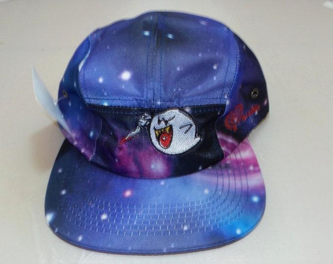 Strap-back Flat-Brim Hat - Ghostface Killa (One-of-a-kind)