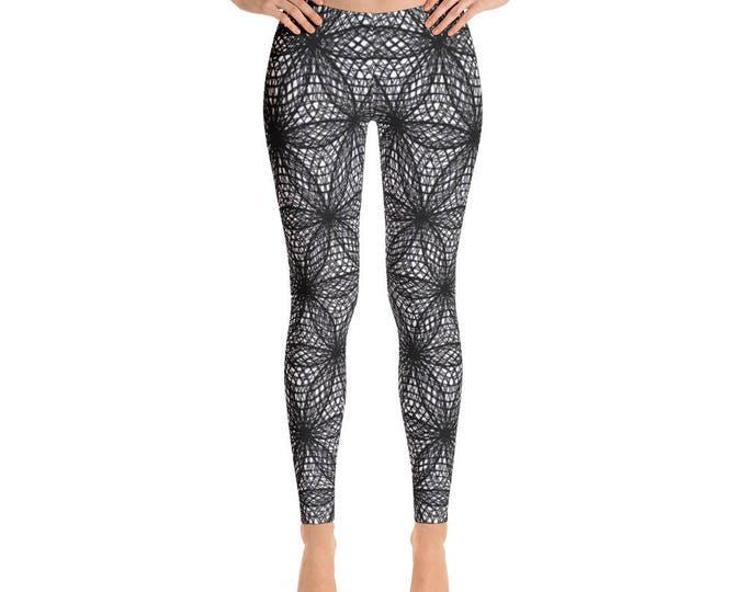 Leggings - Fibonacci Flower Of Life