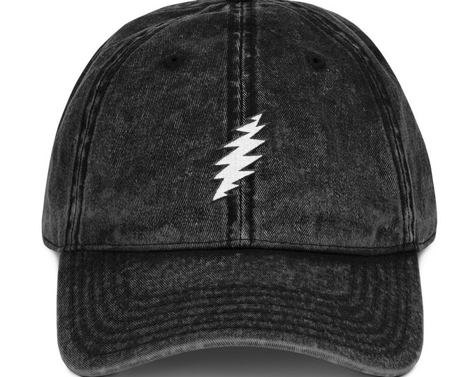 Buckle-Back Bent-Brim Dad Hat - 13-Point Bolt
