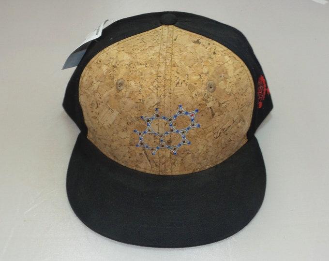 Snapback Flat-Brim Hat - Quartz (One-of-a-kind)
