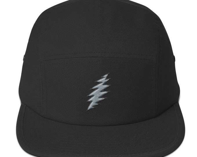 Strap-Back 5-Panel Hat - 13-Point Bolt