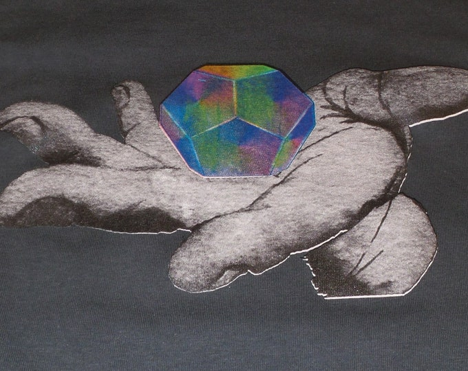 T-Shirt - Universal Potential (Rainbow on Gray)