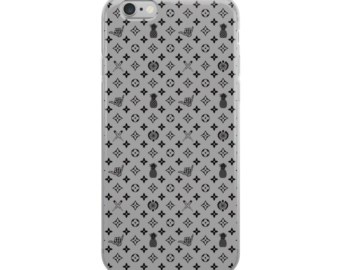 iPhone Case - La Vida Piña x LVSD (Black & Gray)