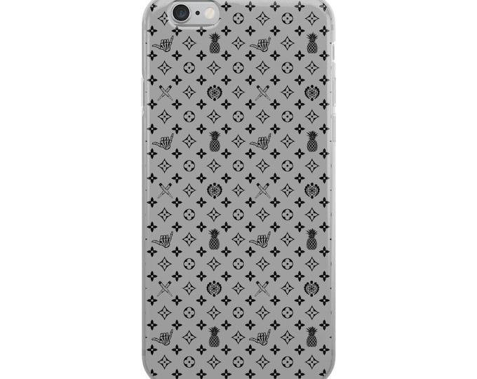 iPhone Case - La Vida Piña x LVSD (Black & Gray)