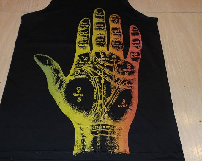 Men's Tank Top - Fortune (Rainbow on Black)