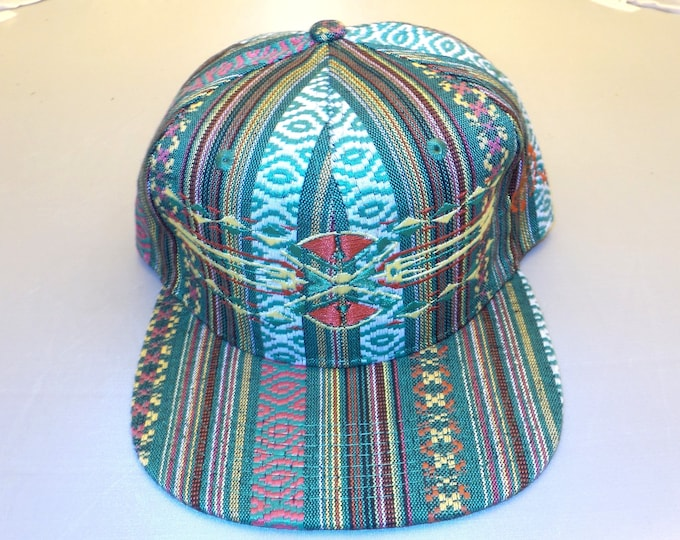 Snapback Flat-Brim Hat - Native (One of a kind)