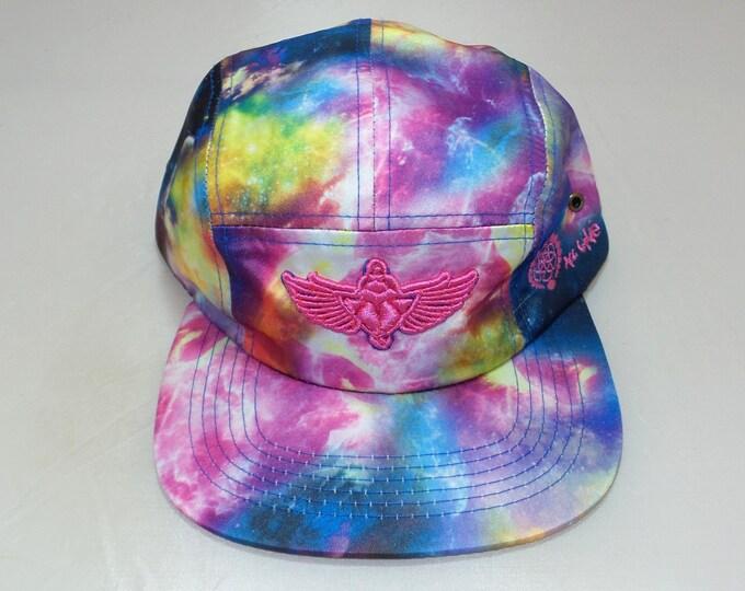 Strap-back Flat-Brim Hat - Scarab (One-of-a-kind)