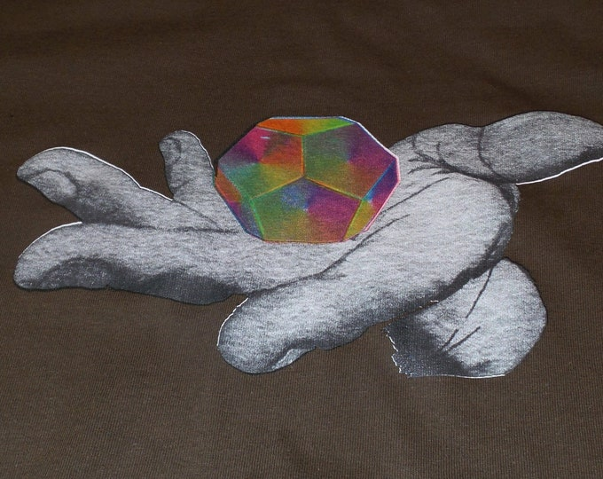 T-Shirt - Universal Potential (Rainbow on Brown)