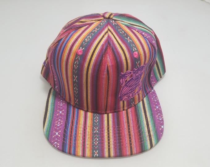 Snapback Flat-Brim Hat - Perched (One-of-a-kind)