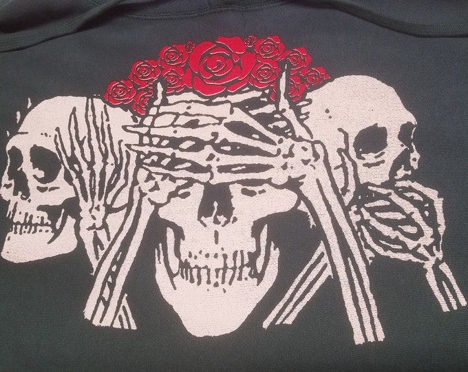 Extra Heavyweight Pullover Hoodie - No Evil - Size XL (Men)