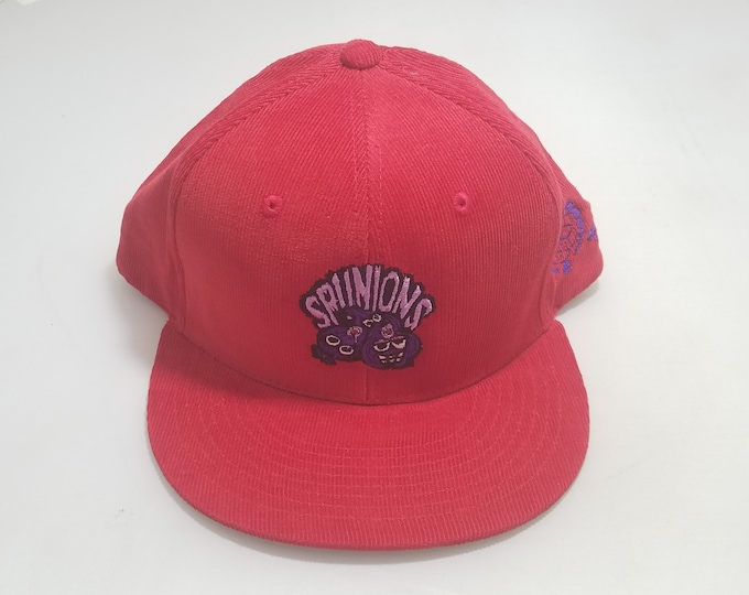 Snapback Flat-Brim Hat - Spunions (One-of-a-kind)
