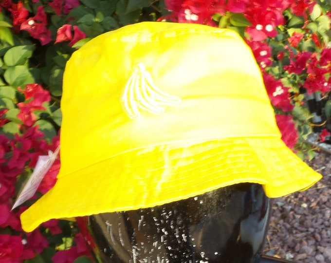 Bucket Hat - Bananas (One-of-a-kind)
