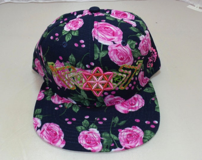Snapback Flat-Brim Hat - Plant (One-of-a-kind)