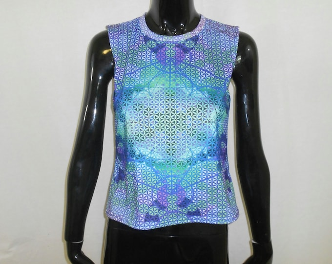 Women's Tank Top - Flower Of Life Expansion (All-Over Print)
