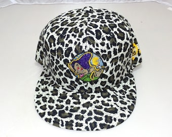 2d394170d0a Snapback Flat-Brim Hat - Dopeish (One-of-a-kind)