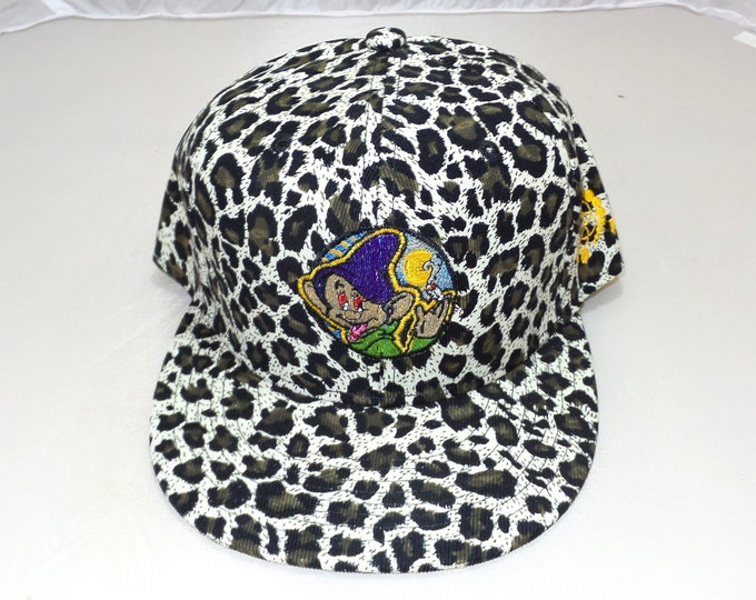 Snapback Flat-Brim Hat - Dopeish (One-of-a-kind)