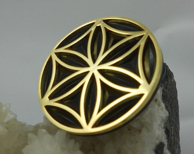 Pin - Seed of Life Medallion