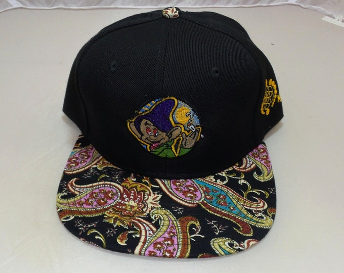 Snapback Flat-Brim Hat - Dopeish (One-of-a-kind)