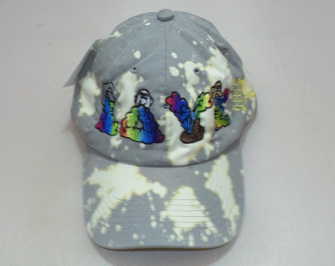 Buckle-back Dad Hat - And Then There Were Rainbows (One-of-a-kind)