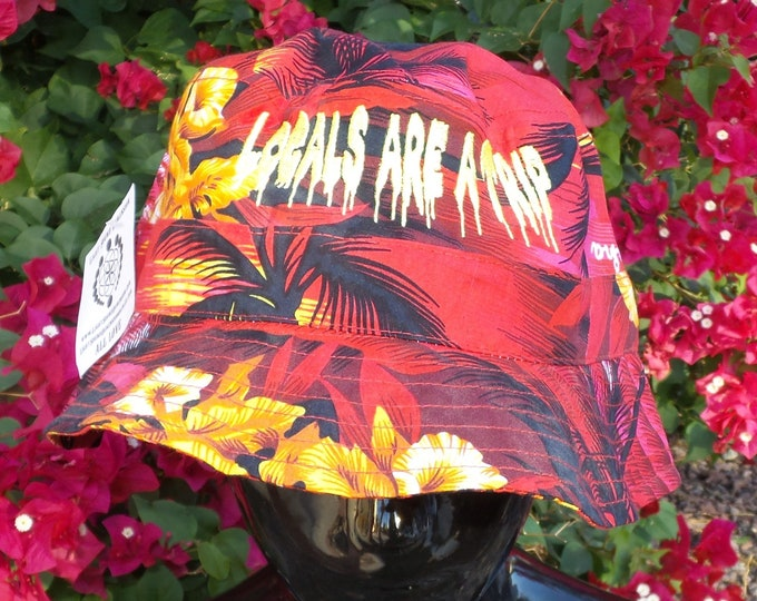 Bucket Hat - Locals Are A Trip (One-of-a-kind)