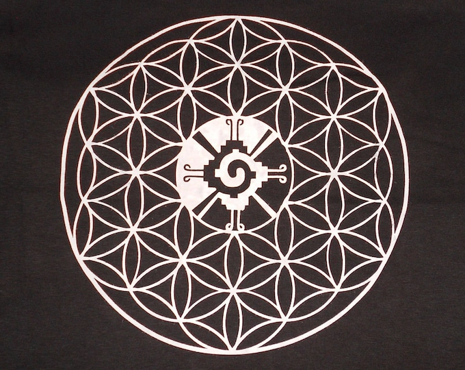 Made-To-Order Hoodie - Hunab Ku Flower of Life