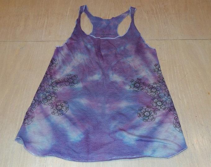 Women's Tank Top - Octahedral (Tie Dye)