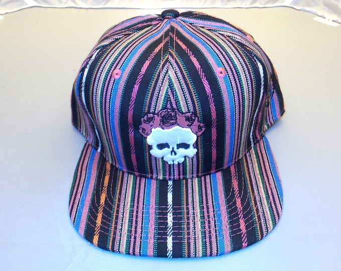 Snapback Flat-Brim Hat - 3D Bertha (One-of-a-kind)