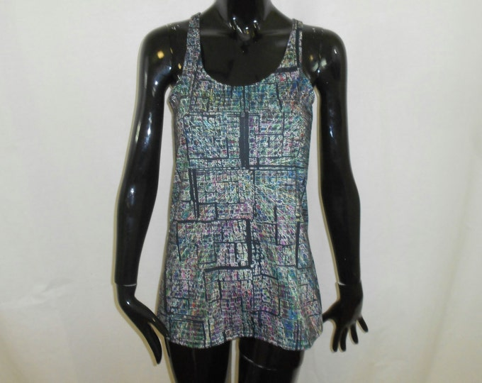 Women's Racerback Tank Top - Psychedelic Mind (All-Over Print)
