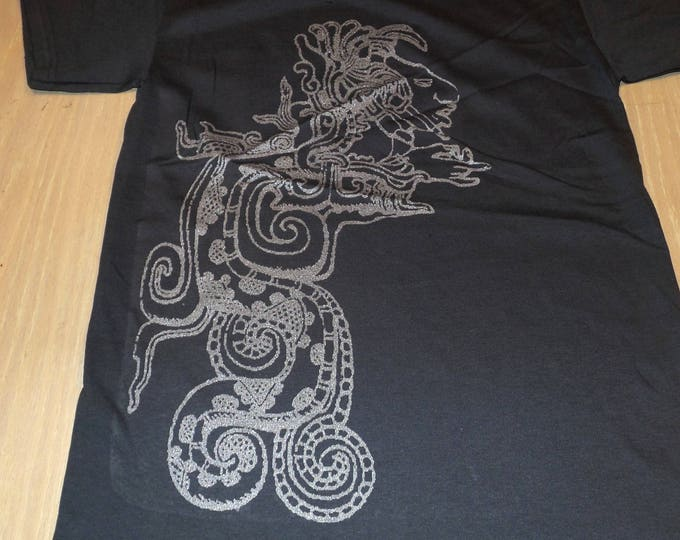 T-Shirt - Vision Serpent (Silver on Gray)