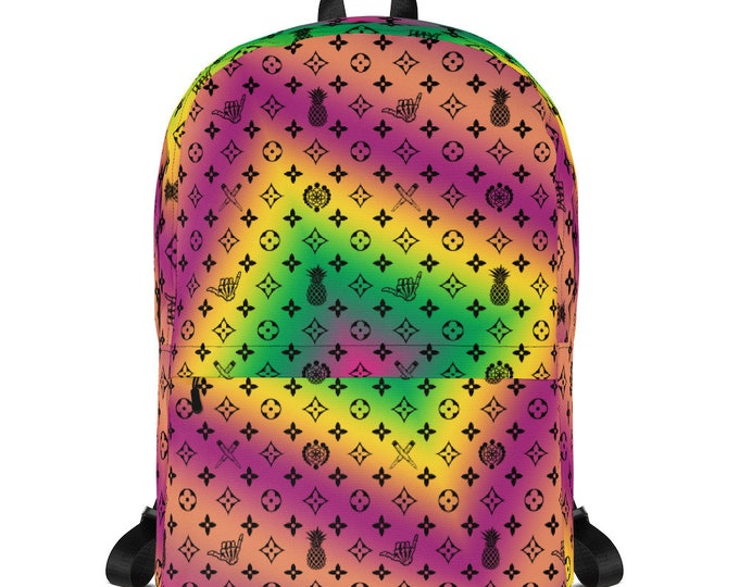 Backpack - La Vida Piña x LVSD (Multicolor)