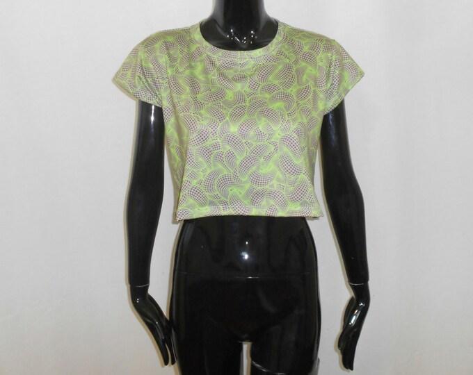 Women's Cropped T-Shirt - Toroidal Energy Fields (All-Over Print)