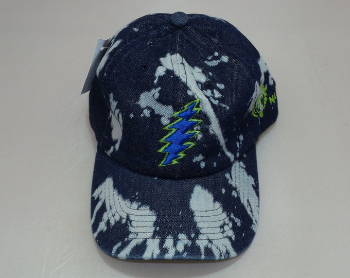 Buckle-back Dad Hat - 13-Point Bolt (One-of-a-kind)