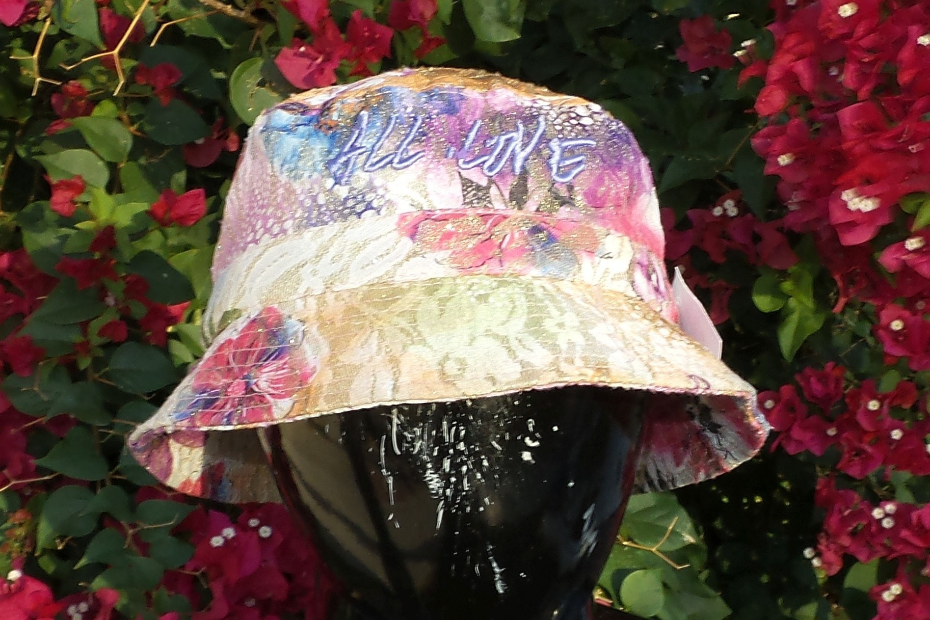 Bucket Hat - All Love (One-of-a-kind) add8bc4ffdc
