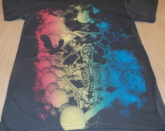 T-Shirt - Fare Thee Well (Rainbow on Gray)