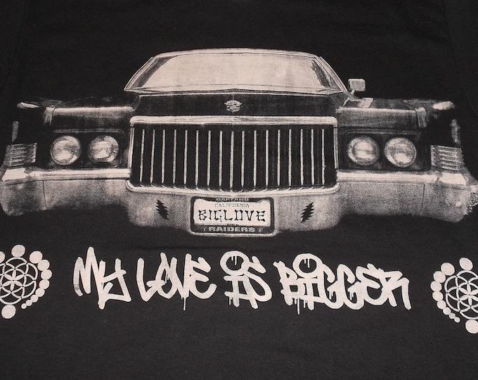T-Shirt - My Love (White on Black)