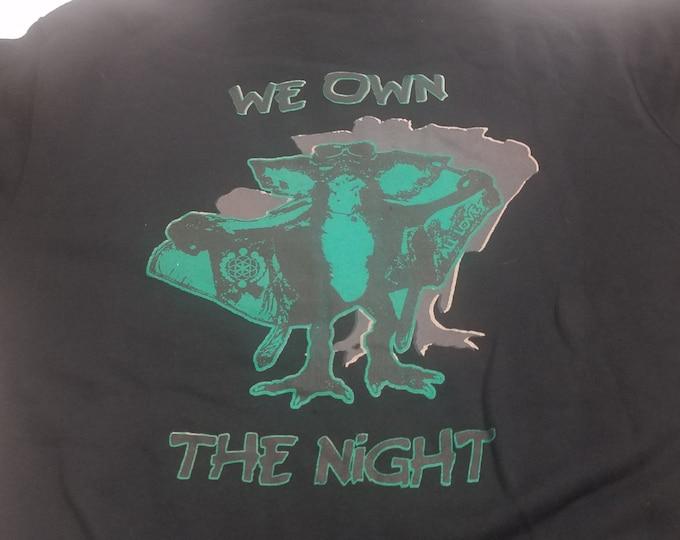 Lightweight Zip Hoodie - Gremlins Own The Night - Size 2XL (Men Fitted)