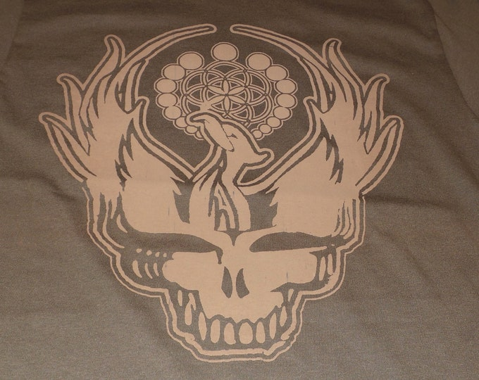 T-Shirt - Steal Your Phoenix (Tan on Brown)