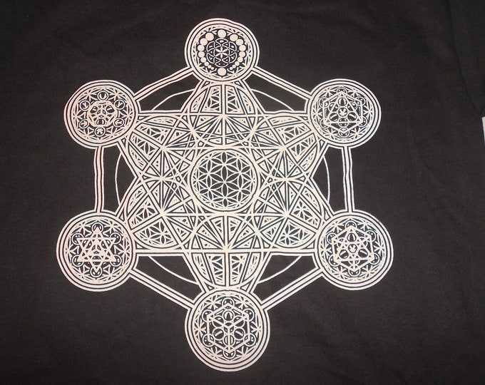 Made-To-Order Extra Heavyweight Pullover Hoodie - Metatron's Elements