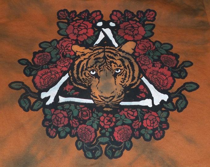 T-Shirt - Tiger Rose (Tie Dye)