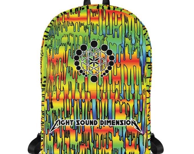Backpack - Melty Rainbow