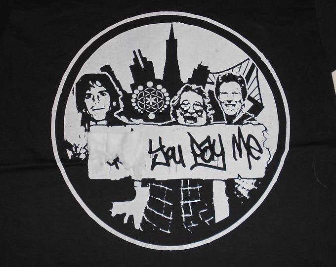 "T-Shirt - F""""k You Pay Me (White on Black)"