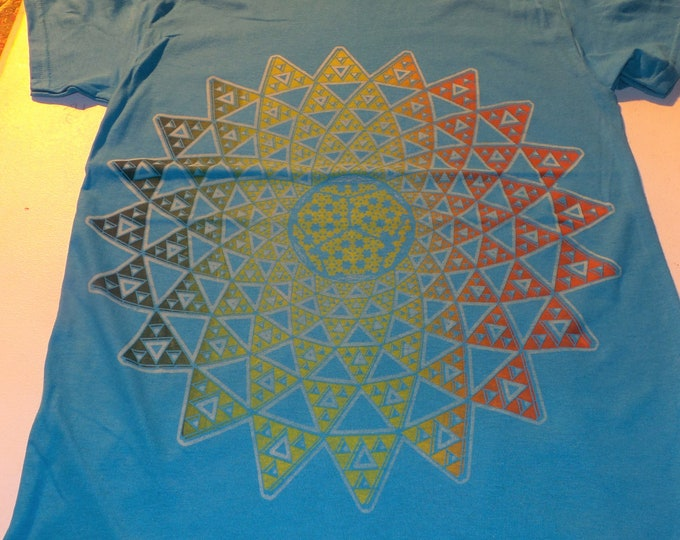 T-Shirt - Infinite Possibilities (Rainbow on Teal)
