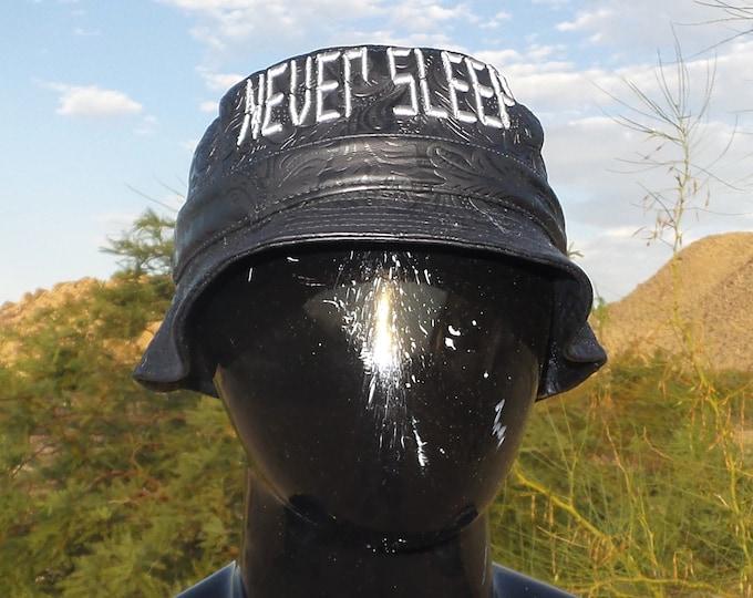 Bucket Hat - Never Sleep (One-of-a-kind)