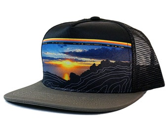 Artist Series - Last Light - Snapback Hat - Black Grey aae7e4e6d03