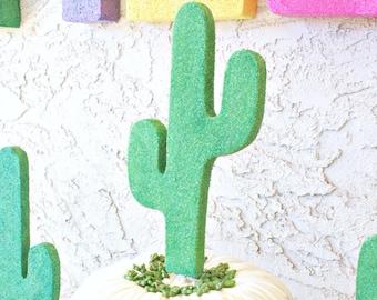Cactus Topper, Cake Topper, Cactus Decor, Cactus Cake, Cactus Decorations, Cactus Prop, Cactus Party, Fiesta Topper, Fiesta Cake, Cake Decor