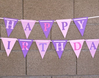 Party, Ready to ship, 1st Birthday, Birthday banner, Cupcake Party, Princess Party, Butterfly, Polka dots